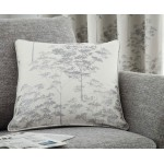 Curtina Elmwood Stone Eyelet Curtains and Cushions