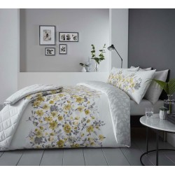 Dreams n Drapes Gabriella Ochre Duvet Cover Sets and Coordinates