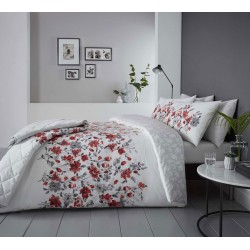 Dreams n Drapes Gabriella Red Duvet Cover Sets and Coordinates