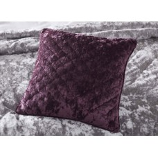 Appletree Kori Plum Quilted Cushion