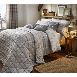 Dreams n Drapes Ludlow Natural Duvet Cover Sets and Coordinates