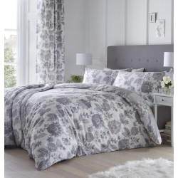Dreams n Drapes Marinelli Grey Duvet Cover Sets and Coordinates