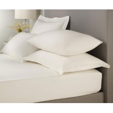 Signature Hotel Plain Dye Cream Extra Deep Fitted Sheets