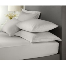 Signature Hotel Plain Dye Dove Grey Extra Deep Fitted Sheets