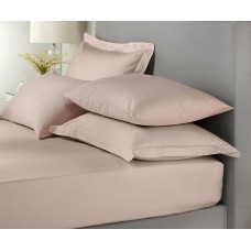 Signature Hotel Plain Dye Dusky Lilac Extra Deep Fitted Sheets