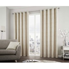 Curtina Solent Natural Eyelet Curtains and Cushions