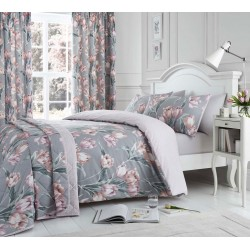 Dreams n Drapes Tulip Blush Duvet Cover Sets and Coordinates