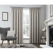 Curtina Valda Graphite Pencil Pleat Curtains and Cushions