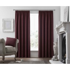 Curtina Voysey Ruby Pencil Pleat Curtains and Cushions