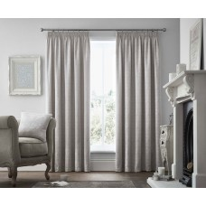 Curtina Voysey Silver Pencil Pleat Curtains and Cushions
