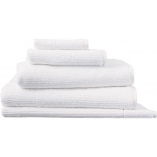 Sheridan Hygro Living Textures White Towels and Mat
