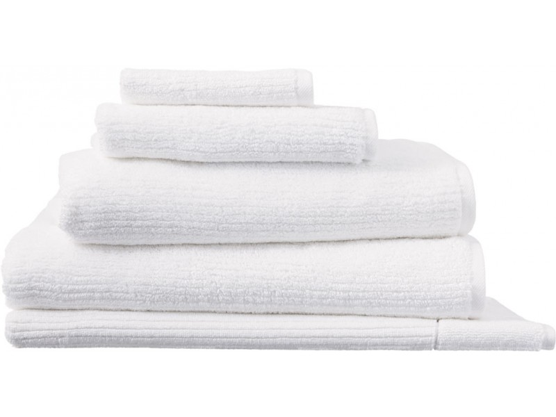 Sheridan New Hygro Living Textures White Towels and Mat