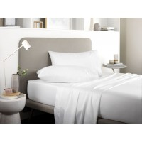 Sheridan New 500 Thread Count Tencel® White Cotton Pillowcases
