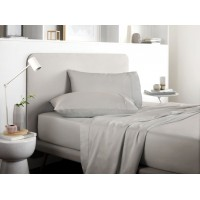 Sheridan New 500 Thread Count Tencel® Dove Cotton Flat Sheets