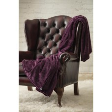 Heat Holders Luxury 1.7 tog Mulled Wine Fleece Blankets