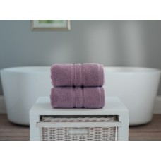 The Lyndon Company Chelsea Zero Twist Lavender Cotton Towels