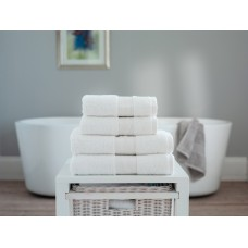 The Lyndon Company Cleopatra Egyptian Cotton White Towels