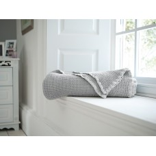 The Lyndon Company Stonewashed Grey Throw