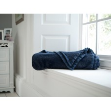 The Lyndon Company Stonewashed Navy Throw