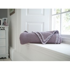 The Lyndon Company Stonewashed Raspberry Throw