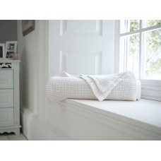 The Lyndon Company Stonewashed White Throw
