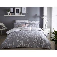 Appletree Muse Grey Duvet Cover Sets