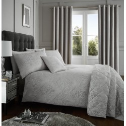 Serene Portobello Silver Duvet Cover Sets and Coordinates