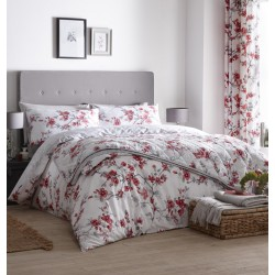 Dreams n Drapes New Suki Red Duvet Cover Sets and Coordinates