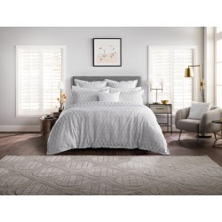 Sheridan New Brookley Silver Duvet Covers and Coordinates