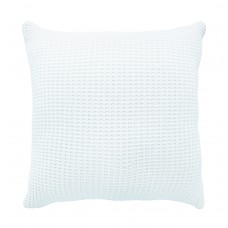 Sheridan Haden White Chunky Knit Square Pillow Sham