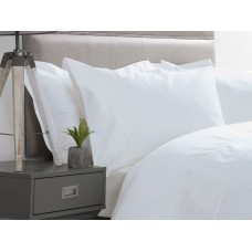 Belledorm 600 Thread Count Premium Cotton Flat Sheets In White