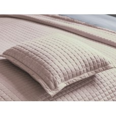 Belledorm New Crompton Powder Pink Throw and Cushion