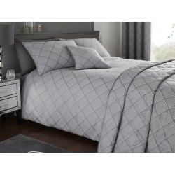 Serene New Wilmslow Graphite Duvet Cover Sets and Coordinates