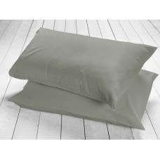 Racing Green 200 Thread Count Slate Pillowcases