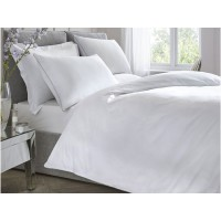 Appletree Signature New 200 Thread Count Cotton White Fitted Sheets
