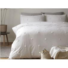 Appletree Signature Dot Garden White with White Duvet Cover Sets