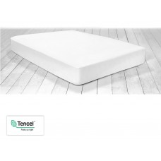 Racing Green Stay Cool Tencel® White Fitted Sheets and Pillowcases