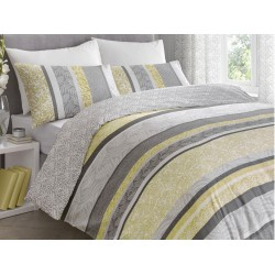 Dreams n Drapes Hanworth Ochre Duvet Cover Sets and Coordinates