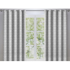 Dreams n Drapes New Hanworth Grey Lined Curtains
