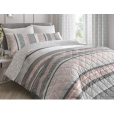 Dreams n Drapes New Hanworth Pink Quilted Bedspread