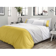 Racing Green New Lawson Ochre & Grey Duvet Cover Sets
