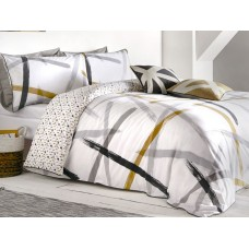 Appletree Leda Grey Duvet Cover Sets
