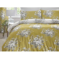 Dreams n Drapes New Mirabella Ochre Duvet Cover Sets and Coordinates