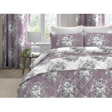 Dreams n Drapes New Mirabella Lavender Quilted Bedspread