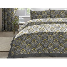Dreams n Drapes New Ventino Ochre Quilted Bedspread