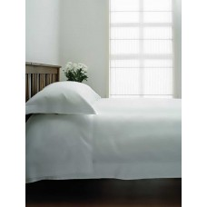 "Belledorm 400 Thread Count Egyptian Cotton 12"" White Fitted Sheets"