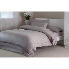 "Belledorm 400 Thread Count Egyptian Cotton 15"" Pewter Fitted Sheets"