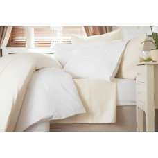 "Belledorm 600 Thread Count Premium Cotton 15"" Fitted Sheets"