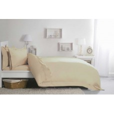 "Belledorm 400 Thread Count Egyptian Cotton 12"" Cream Fitted Sheets"