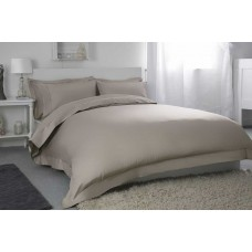 "Belledorm 400 Thread Count Egyptian Cotton 12"" Pewter Fitted Sheets"